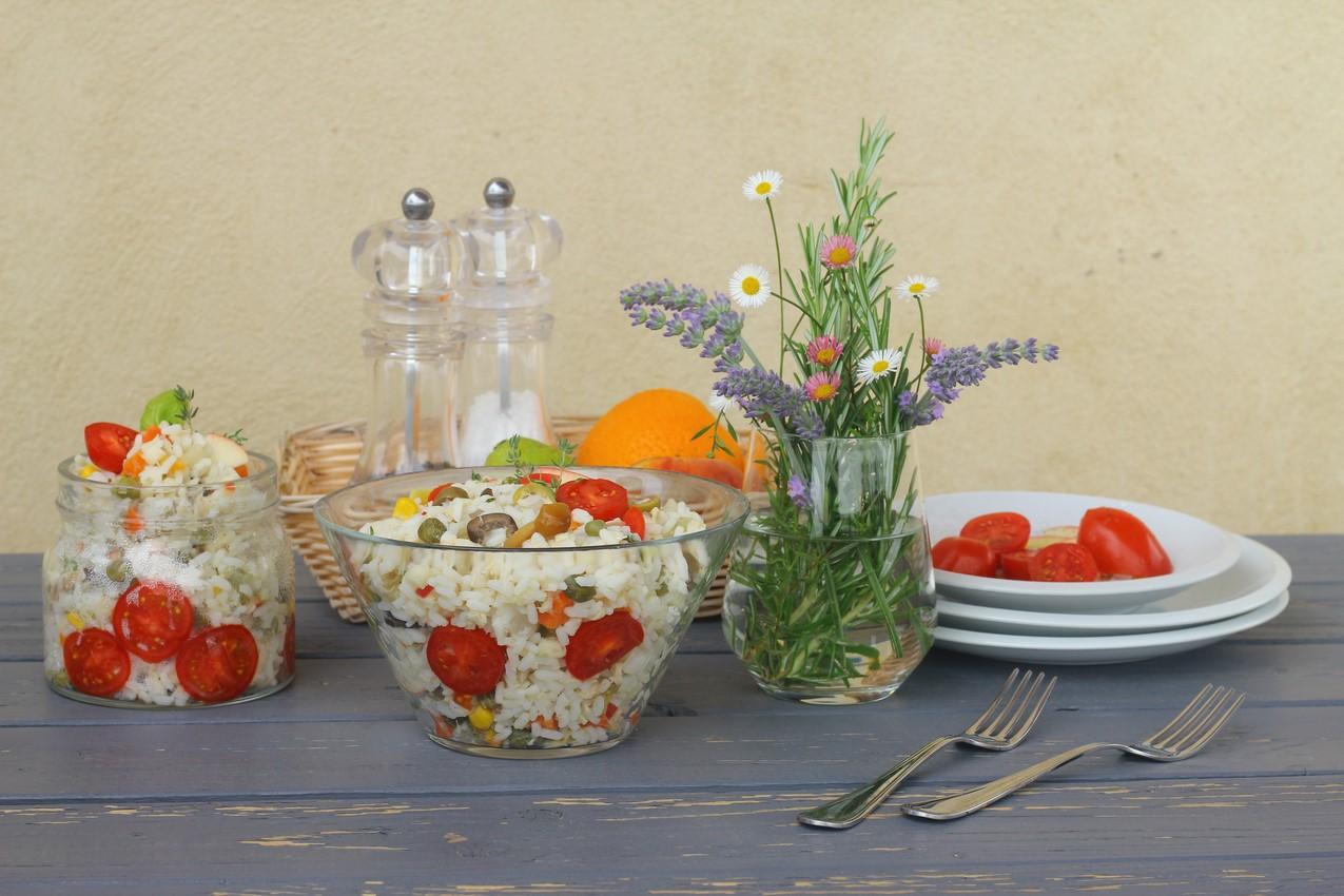 typical Italian Rice Salad
